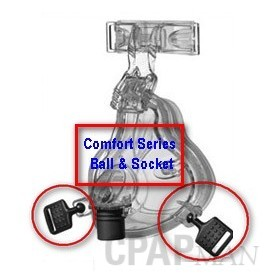 Comfort Series CPAP Mask Ball-And-Socket Swivel Clip by Philips Respironics