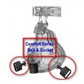 Comfort Series Ball-And-Socket Swivel Clip, Philips Respironics