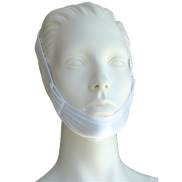 Chin Strap with Stretchy Velcro straps that Velcro to headgear