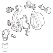 Mirage Activa LT Nasal Mask Frame System with Cushion (No Headgear)