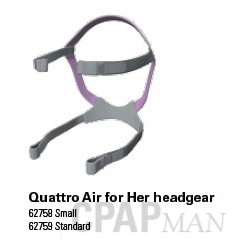 Quattro Air for Her CPAP Full Face Mask Headgear
