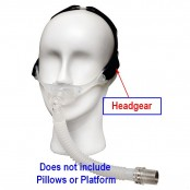 Headgear, Headgear for Stealth Nasal Pillow System
