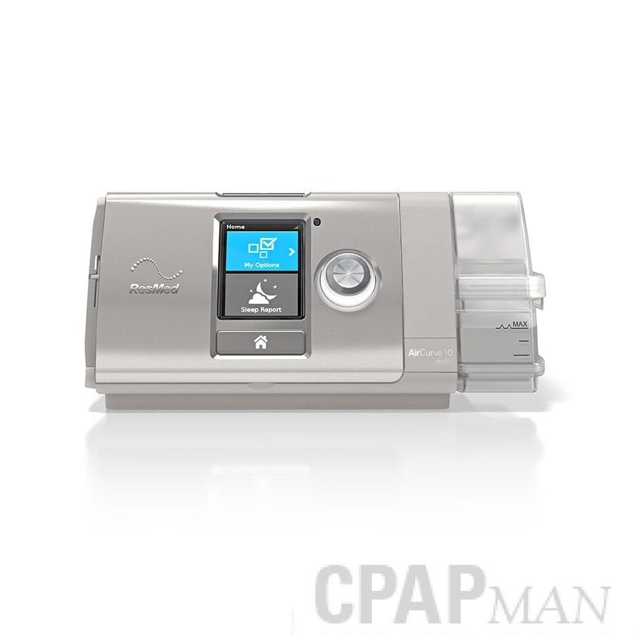 AirCurve 10 VPAP ASV with HumidAir Humidifier and ClimateLineAir Tubing