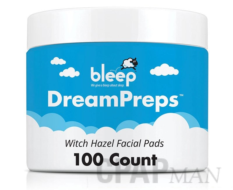 Bleep DreamPreps Witch Hazel Facial Pads - 100 Count