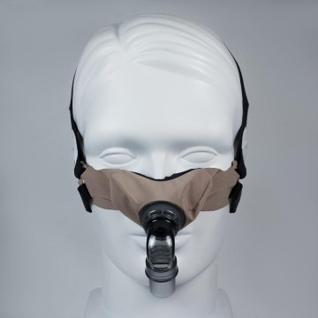 SleepWeaver Elan Soft Cloth Nasal CPAP Mask with Headgear