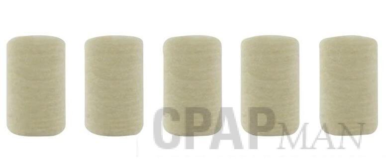 DeVilbiss Filter for 5650D Plumo-Aide/4650D Pulmomate Compressor Nebulizer