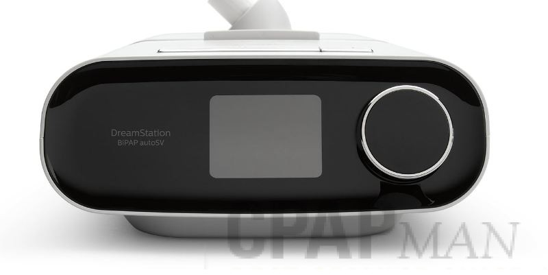 DreamStation BiPAP AutoSV with Humidifier and Heated Tube
