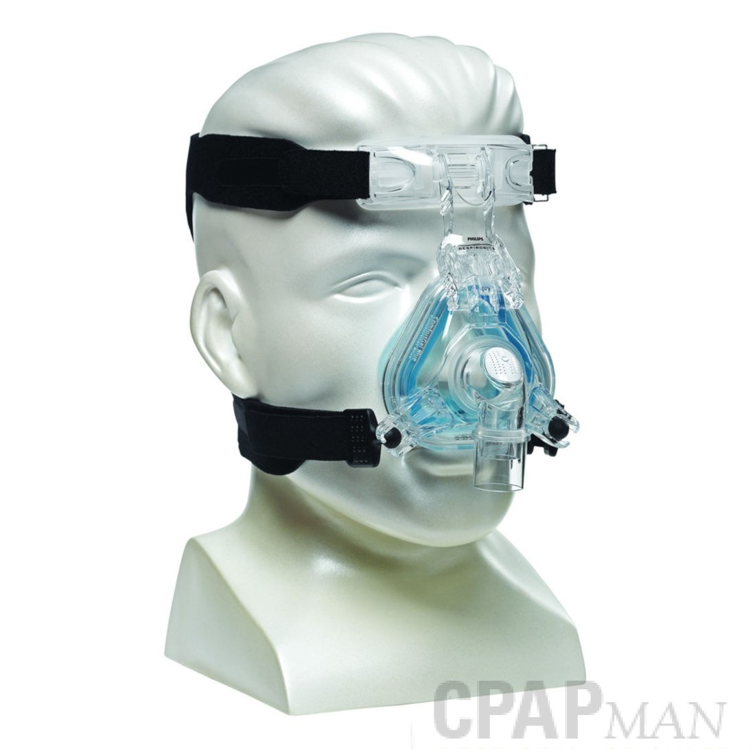 Respironics ComfortGel Blue Full Face CPAP Mask, Small