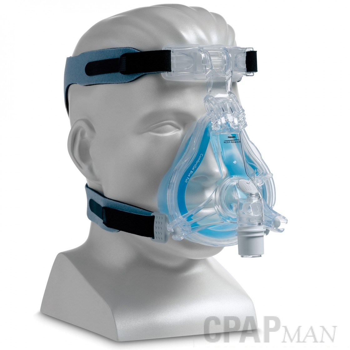 Respironics ComfortGel Blue Full Face Mask with Headgear