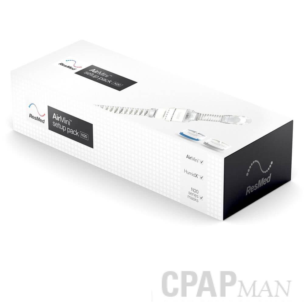ResMed AirMini Setup Pack for N20 Nasal Mask