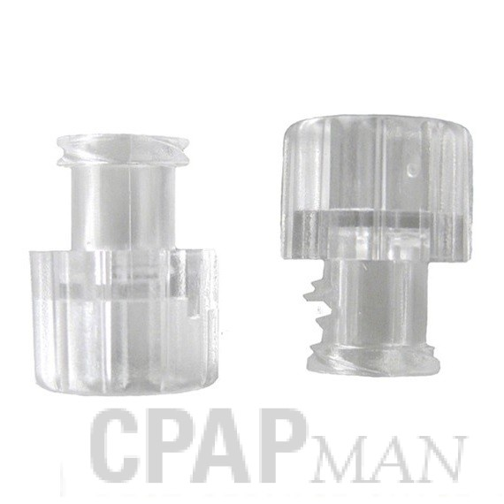 Port Cap, Luer Lock for Mirage Full Face CPAP Mask