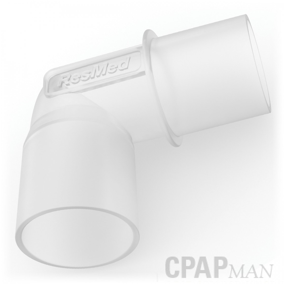 ResMed CPAP Tubing Elbow (for Plastic Tubing)