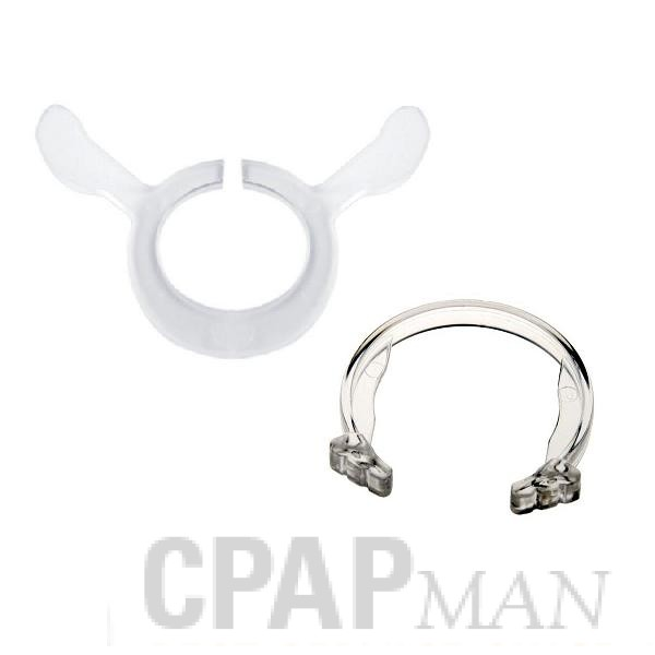 Spare Clips for Mirage Full Face Mask, Includes 5 elbow clips and 5 quick release clips