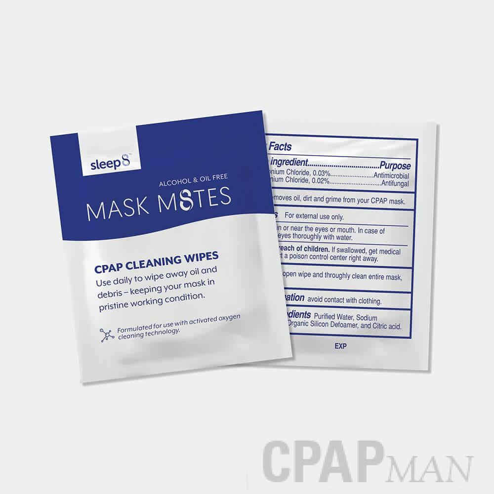 Mask M8tes CPAP Travel Sanitizing Wipes