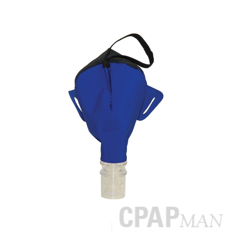 SleepWeaver Advance Soft Cloth Nasal CPAP Mask WITHOUT Headgear