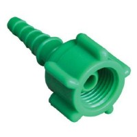 Oxygen Tubing Christmas Adapter with Swivel - 10/pk