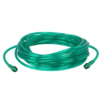 Green Oxygen Supply Tubing 25 ft.
