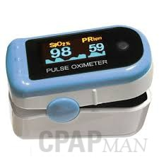 Sunset Health Advanced Finger Pulse Oximeter