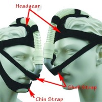 Headgear, for Puritan Bennett ADAMCircuit Nasal Pillows