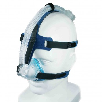 SleepNet iQ Blue Vented Nasal Mask with Headgear