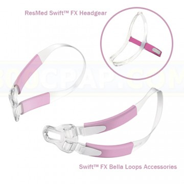 Swift FX for Her headgear with Swift FX Bella loops accessory