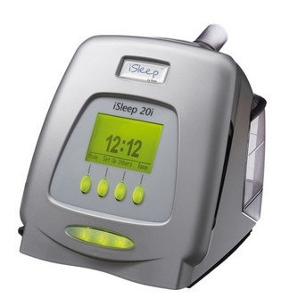 iSleep 20i Auto CPAP Machine with Heated Humidifier and Air Tubing from Breas