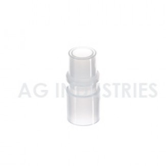 CPAP Swivel Adapter, 22 mm, Male/Female Connections