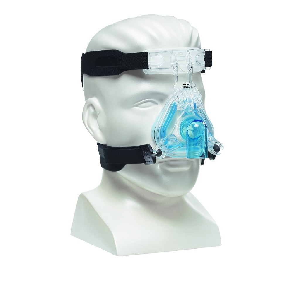 ComfortGel Blue Nasal CPAP Mask with Headgear from Respironics