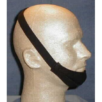 DeVilbiss Chin Strap with stretchy Velcro over/under closure