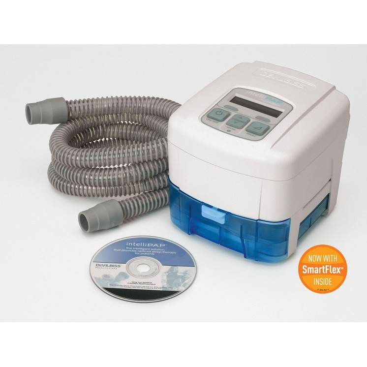 IntelliPAP™ AutoAdjust CPAP Machine with Heated Humidifier and Air Tubing from DeVilbiss