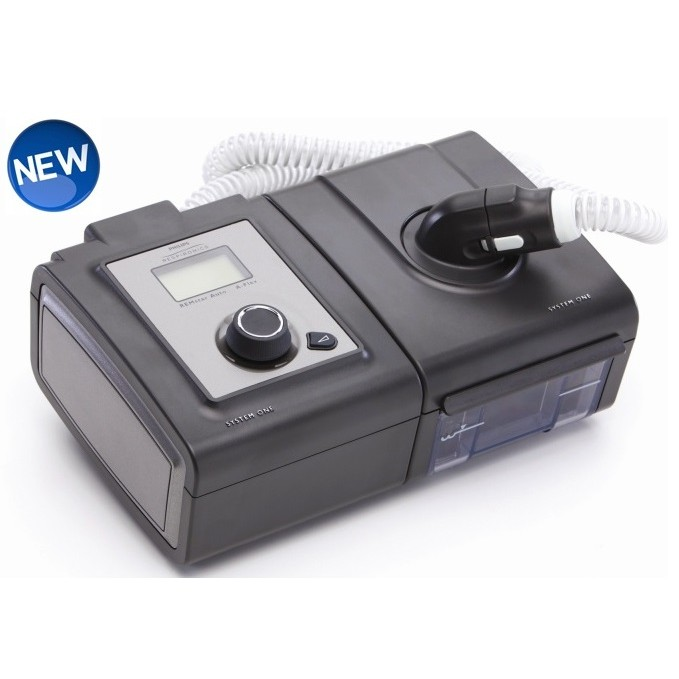 System One™ REMstar Plus CPAP with Humidifier and Heated Tubing from Respironics