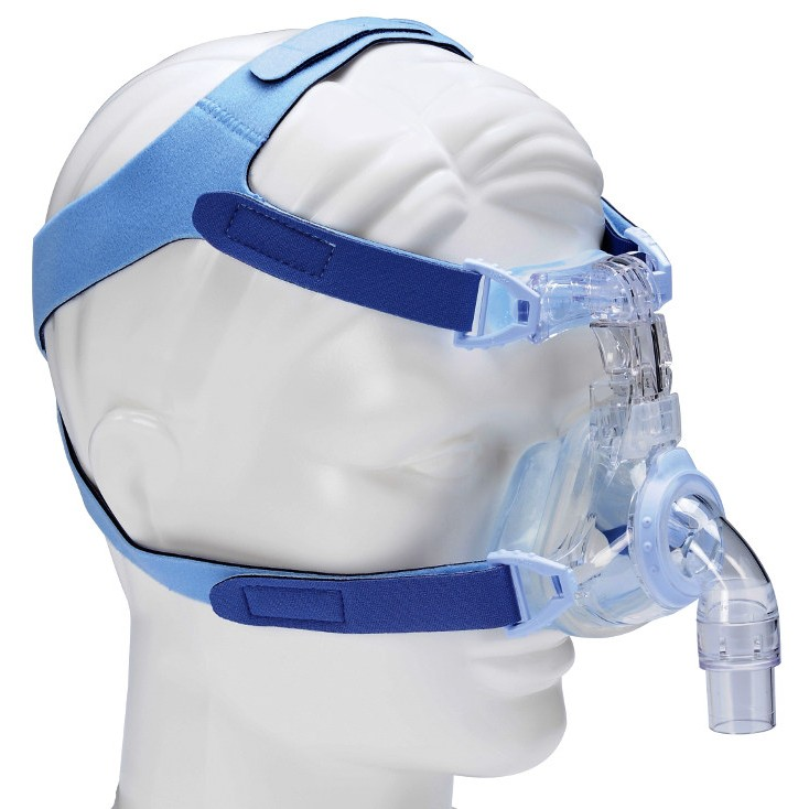 EasyFit™ SilkGel Nasal Mask with Headgear from DeVilbiss