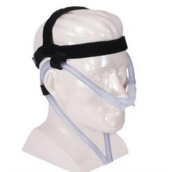 NasalAire™ II Cannula Type Nasal Prong Interface Tubular Mask with Headgear from DeVilbiss